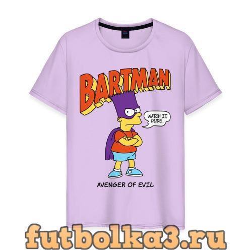 Футболка Барт Симпсон мужская
