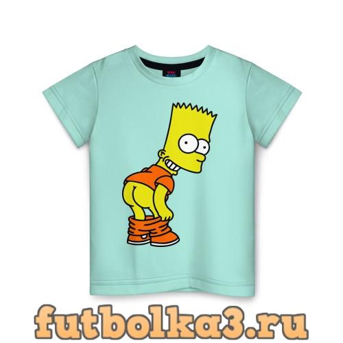 Футболка Барт Симпсон Simpson детская