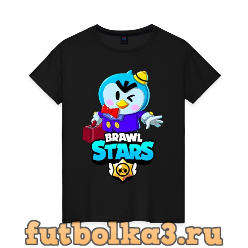 Футболка BRAWL STARS MR.P женская