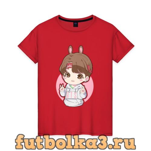 Футболка BTS ART женская