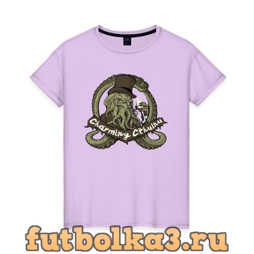 Футболка Charming Cthulhu женская
