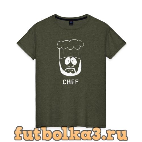 Футболка Chef женская