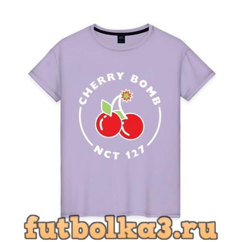 Футболка Cherry Bomb женская