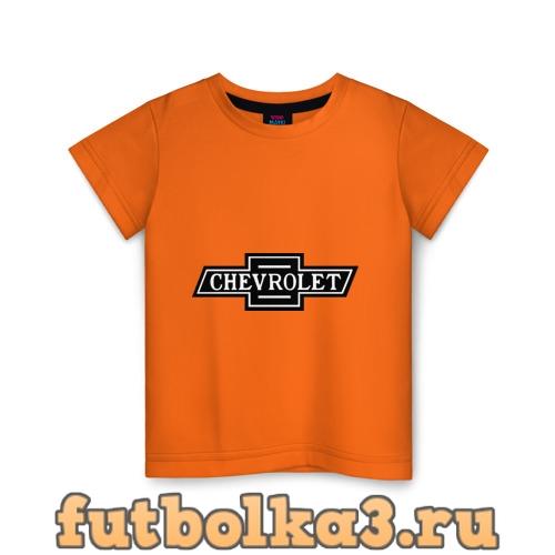 Футболка Chevrolet лого детская