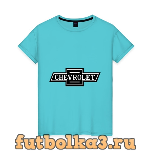 Футболка Chevrolet лого женская