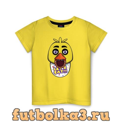 Футболка Chica FNAF детская