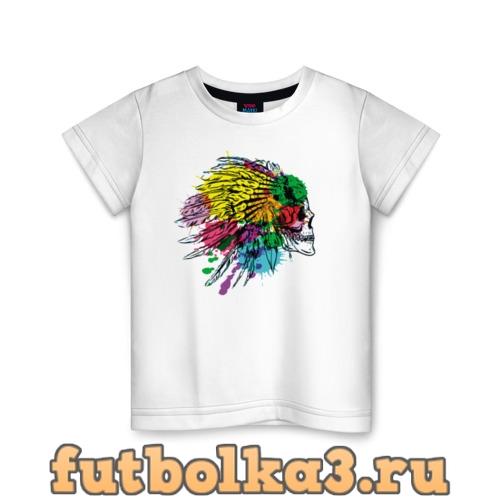 Футболка Chief's skull детская