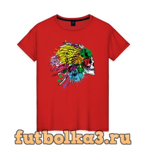 Футболка Chief's skull женская