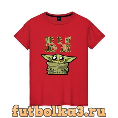 Футболка Child Yoda  женская