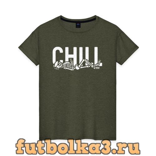Футболка Chill женская