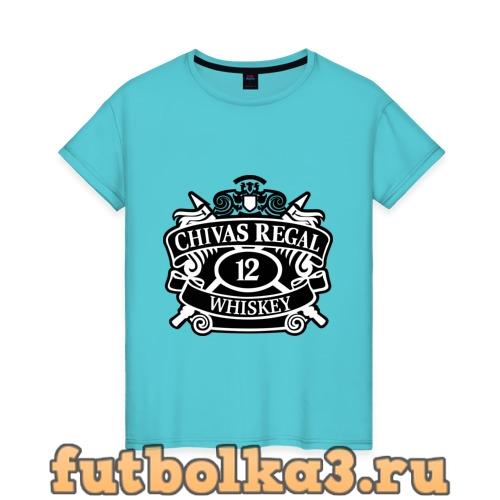 Футболка Chivas Regal whiskey женская