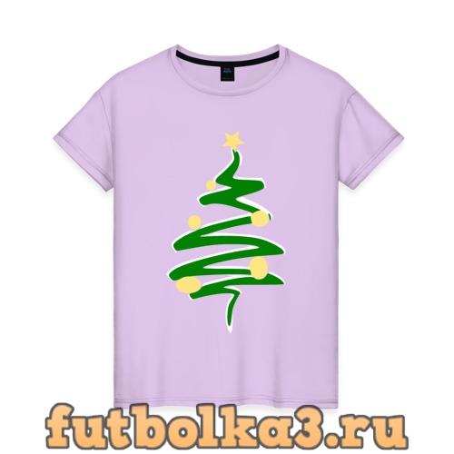 Футболка Christmas Tree женская