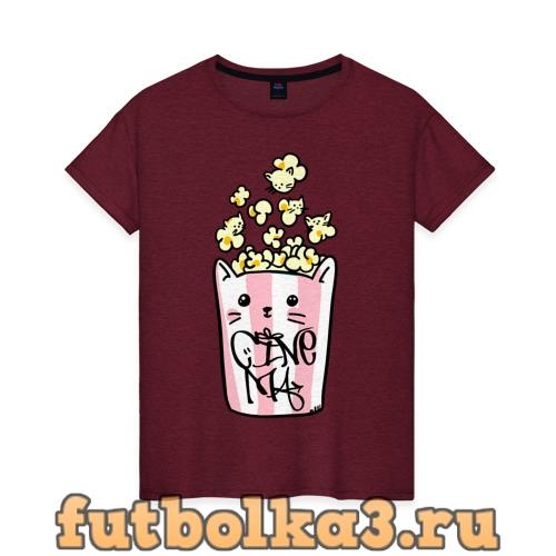 Футболка Cinema женская