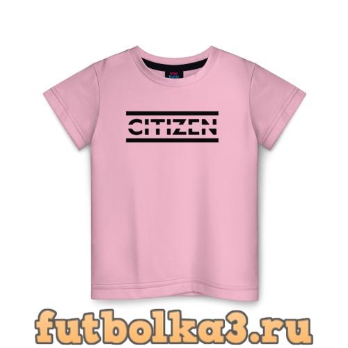 Футболка Citizen Erased - Muse детская