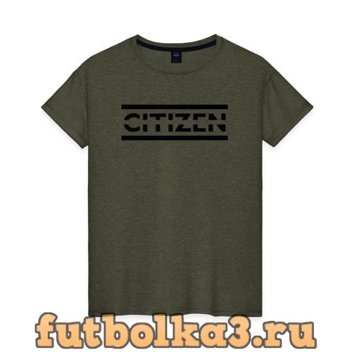 Футболка Citizen Erased - Muse женская