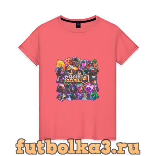 Футболка Clash Royale женская