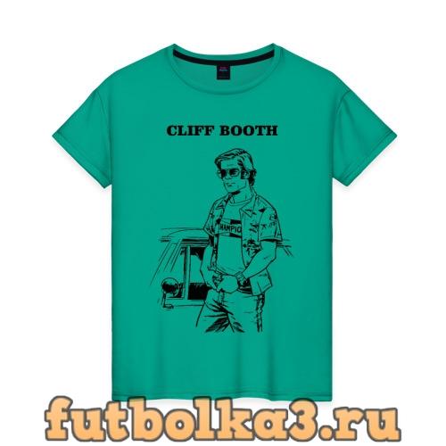 Футболка CLIFF BOOTH женская