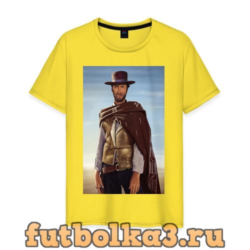 Футболка Clint Eastwood мужская