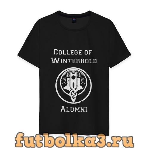 Футболка College of Winterhold Alumni мужская