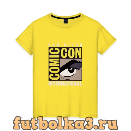 Футболка Comic Con женская