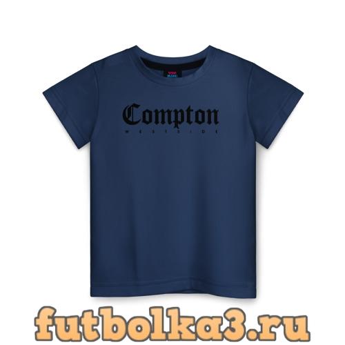 Футболка Compton west side детская