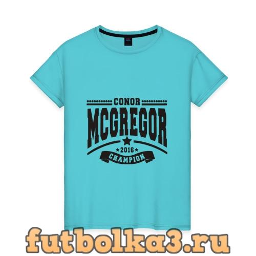 Футболка Conor McGregor женская