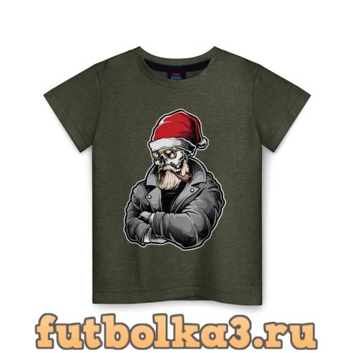 Футболка Cool Santa детская