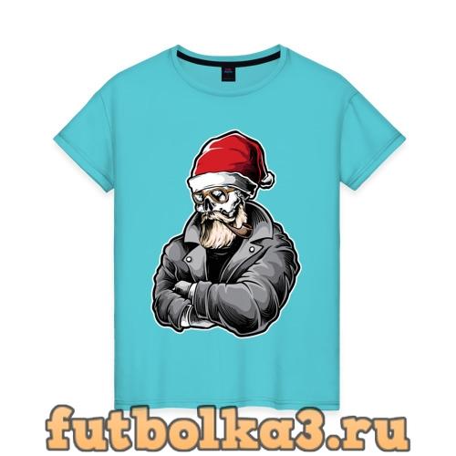 Футболка Cool Santa женская