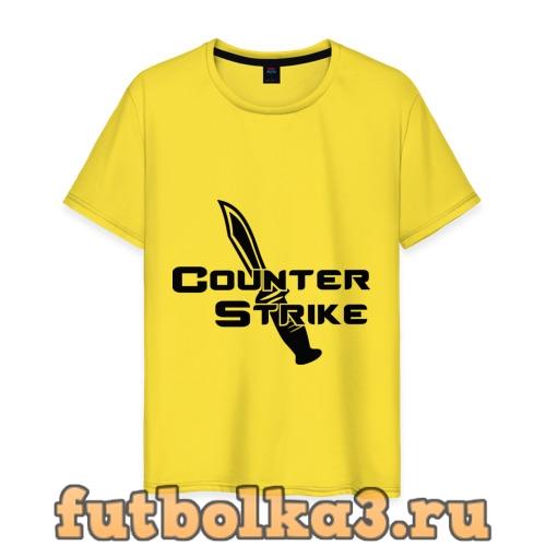 Футболка Counter Strike - Контр Страйк мужская