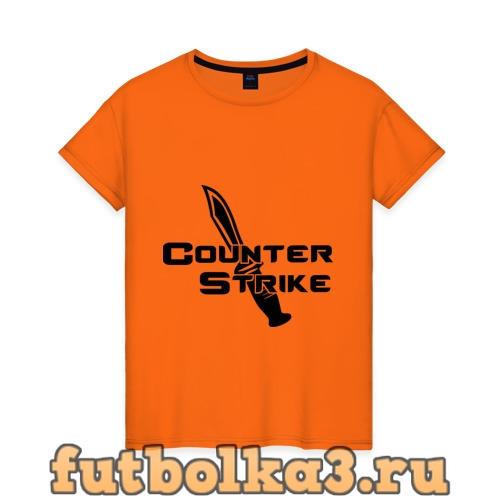 Футболка Counter Strike - Контр Страйк женская