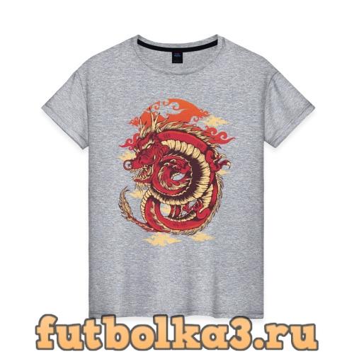 Футболка Дракон женская