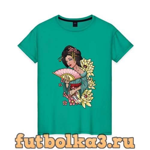 Футболка ГЕЙША женская