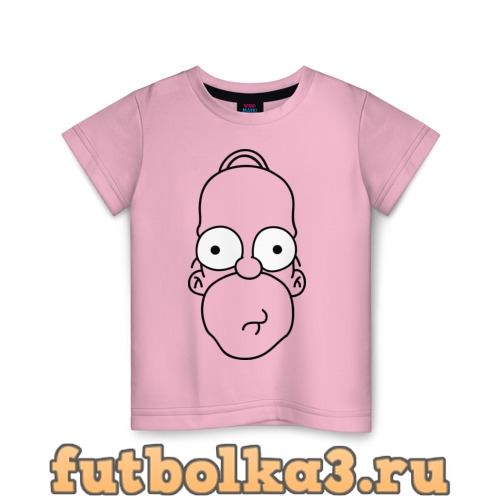 Футболка Гомер лицо детская