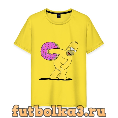 Футболка Гомер Симпсон мужская