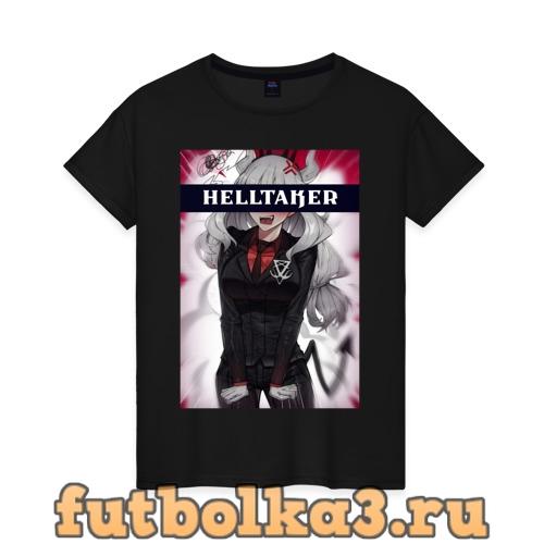Футболка Helltaker женская