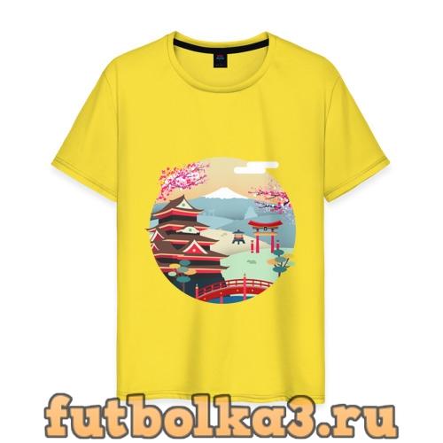 Футболка Япония мужская