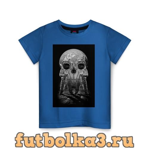 Футболка Космонавты детская