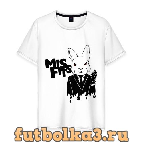 Футболка Кролик misfits мужская