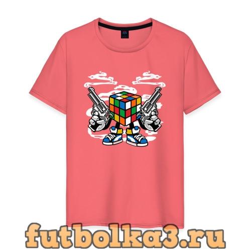 Футболка Кубик Рубика мужская