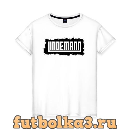Футболка Lindemann женская