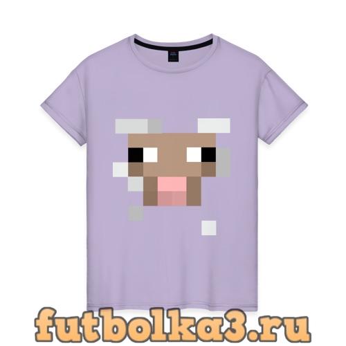 Футболка Майнкрафт женская