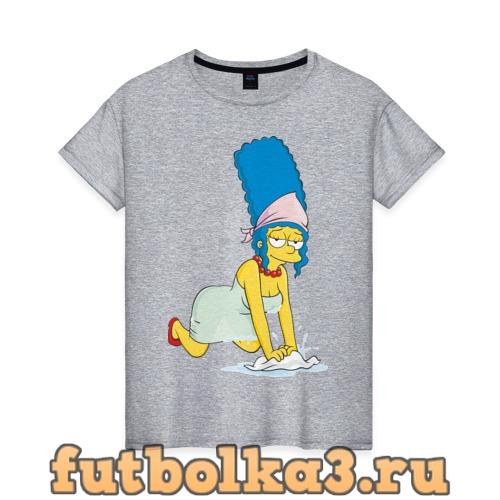Футболка Мардж женская