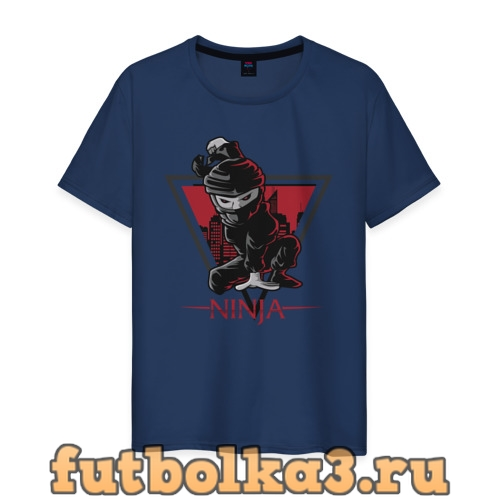 Футболка Ниндзя мужская