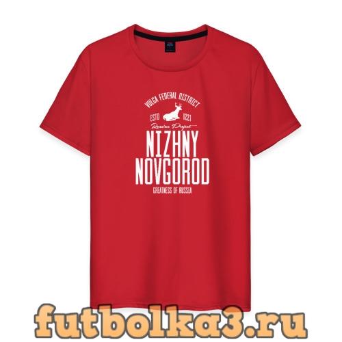 Футболка Нижний Новгород Iron мужская
