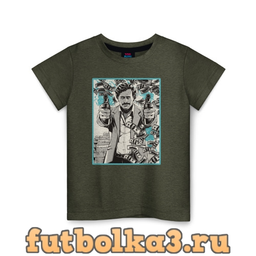 Футболка Пабло Эскобар детская