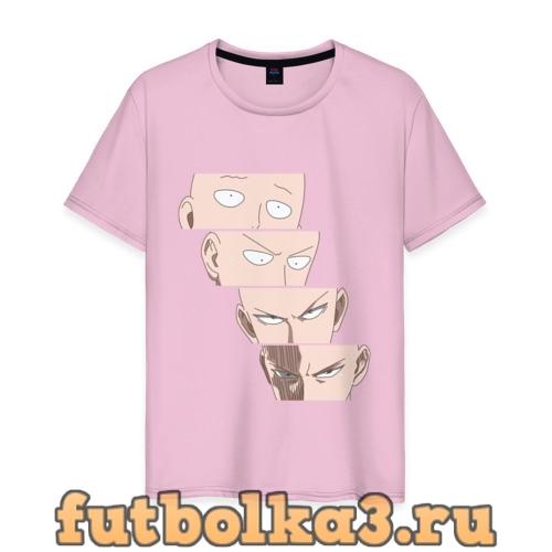 Футболка Saitama Face мужская