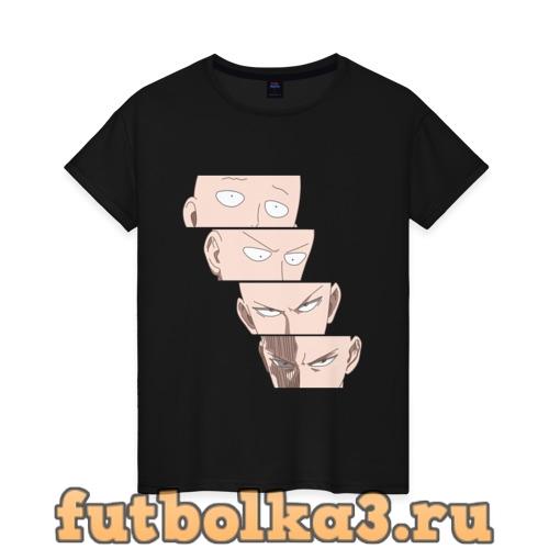 Футболка Saitama Face женская