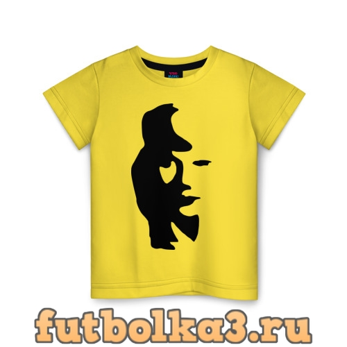 Футболка саксофонист или девушка детская