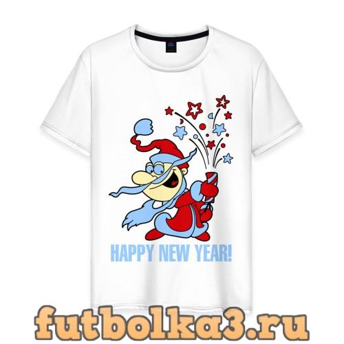 Футболка Салют - хлопушка мужская
