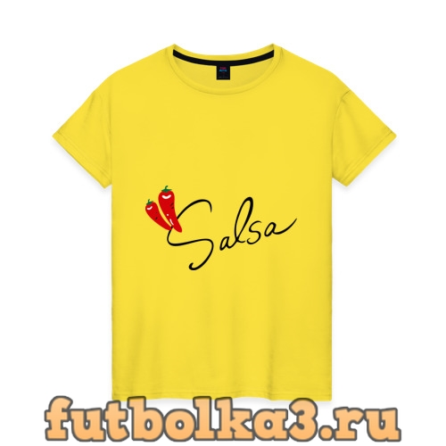 Футболка Сальса чили женская